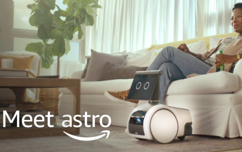 Amazon Yeni Akıllı Robotu Astro'yu Tanıttı